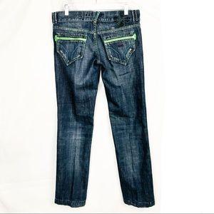Miss Sixty Moody Dark Wash Denim Jeans 32